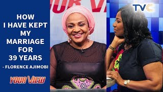 I Have Been Married To Ajimobi for 39 Years And If Possible I will Marry Him Again - Florence