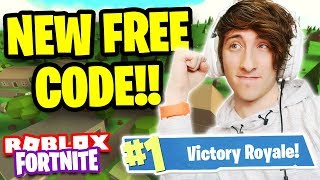 Roblox Fortnite NEW FREE CODE! Island Royale NEW UPDATE! | The Roblox Ninja (#1 VICTORY ROYALES)