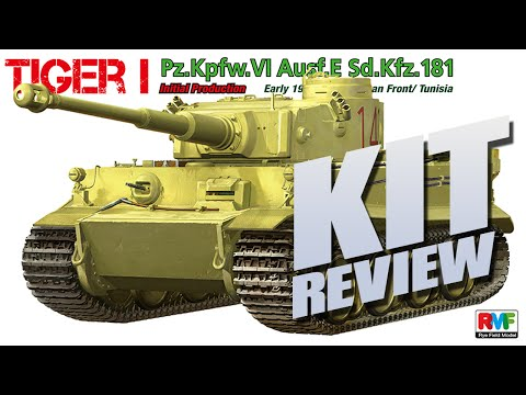 Kit Review: Rye Field Model Tiger I Initial Production Early 1943 Tunisia in 1/35
