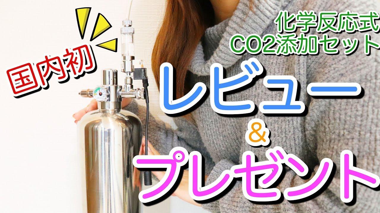 式 co2 反応 化学 化学反応式CO2強制添加装置の導入