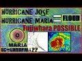 Hurricane JOSE  MARIA N.EAST Flooding. Possible South Carolina Landfall