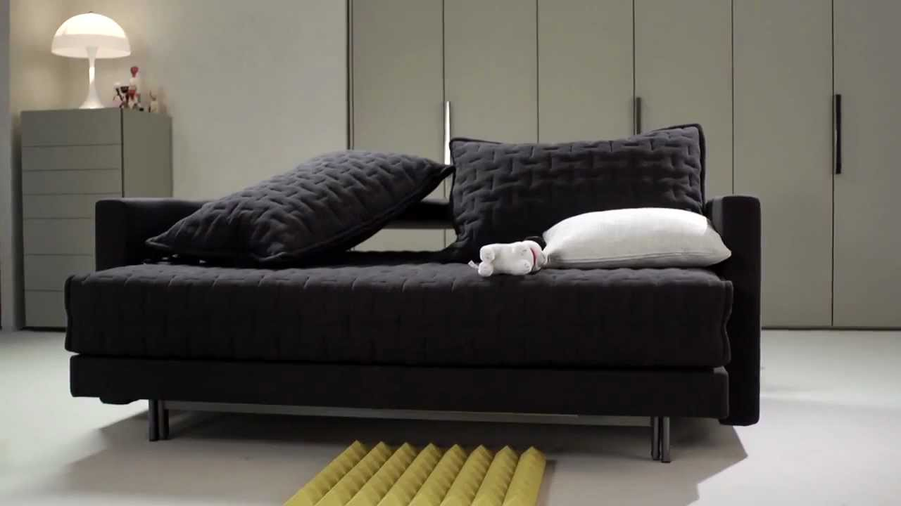The wonderful oz sofa bed molteni c youtube for Sofas que se hacen cama