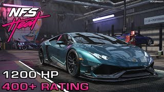 Need for Speed Heat - 400+ Spec Lamborghini Huracan Build 1200 HP and Night Gameplay [4K]