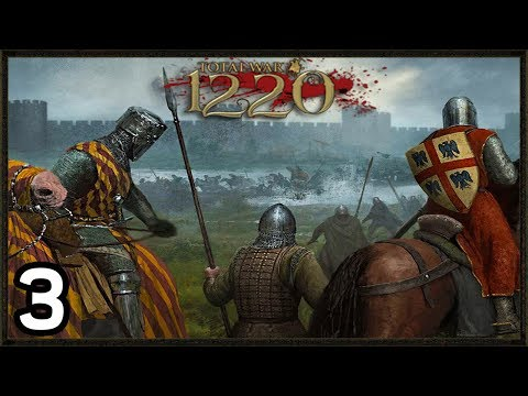Desperate Fight For Survival - Total War: 1220 Mod Gameplay  #3