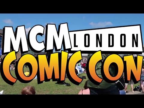 MCM London Comic Con May 2017 Vlog | Part 1 | London Eye