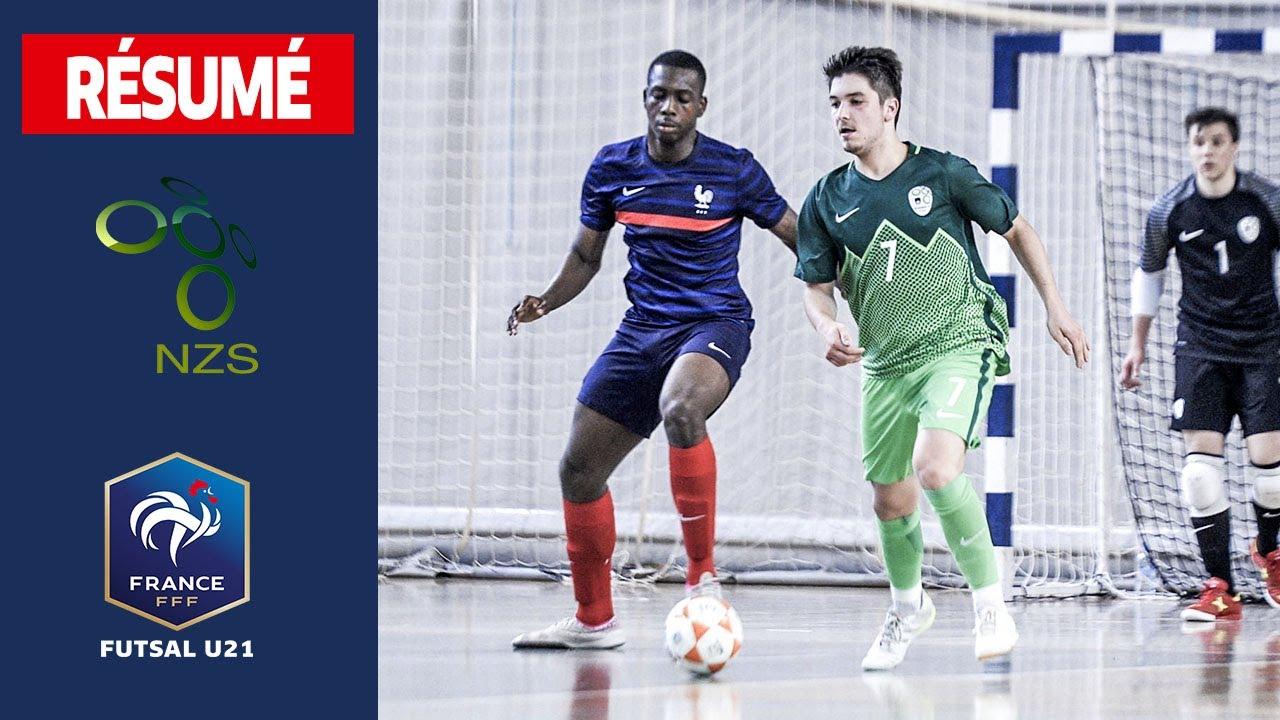 U21 Futsal : Slovénie-France (5-4), le résumé