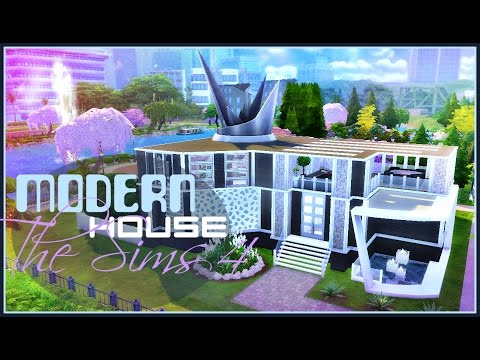 ✩ Большой, современный дом для 8 симов ✩ Строительство в The Sims 4 ✩ Симс 4 ✩