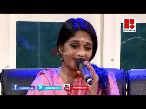 മോര്ണിംഗ് റിപ്പോര്ട്ടറില് ഗായിക പ്രിയ | MORNING REPORTER