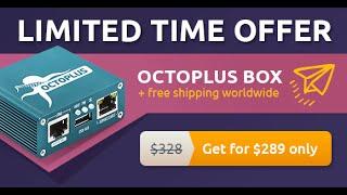 Программатор Octoplus BOX FULL Set распаковка обзор, комплектация