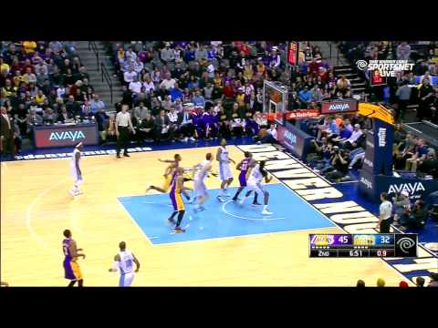 Lakers Vs Nuggets - Lakers Only Highlights
