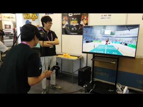 Ping Pong Kings VR at AD Stars 2016