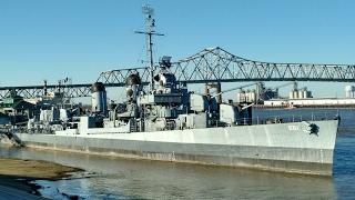 USA КИНО 1134. Луизиана. Экскурсия по эсминцу эпохи WW2 USS KIDD. Часть 1.