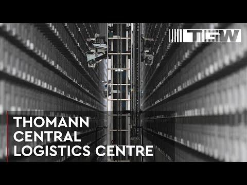 THOMANN, New logistics centre for eCommerce-giant (english)