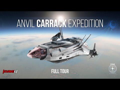 Anvil Carrack Expedition PTU 3.8.2 Tour | Star Citizen