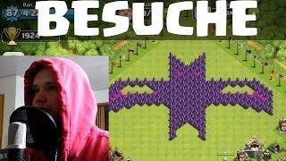 [facecam] NEUE BESUCHE! || CLASH OF CLANS || Let's Play COC [Deusch/German HD]