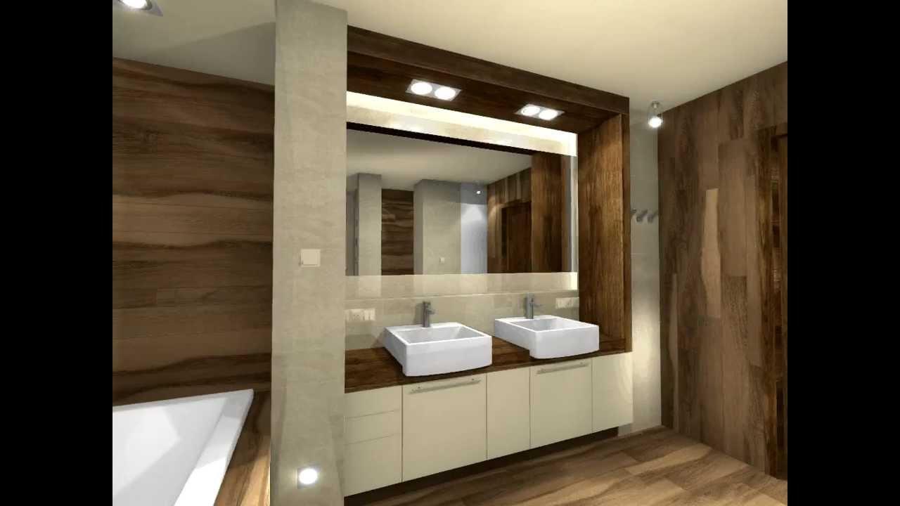 Projekt łazienki - Artdekor Studio Projektowe - YouTube