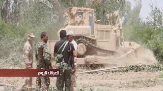 القوات الامنية في ديالى تفتح طريقا وسط البساتين للسيطرة على مناطق داعش