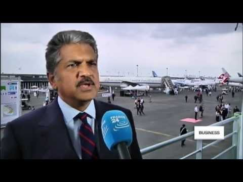 Paris Air Show: Mahindra's Airbus contract a boost to Indian industry