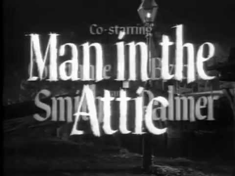 Jack Palance in Man in the Attic 1953