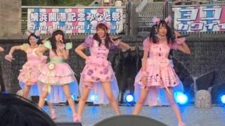 2016/05/05 ヨコハマカワイイパーク スイカ割り/わーすた 松田美里 推し...