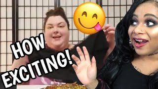 FREE SPIRIT REACTS TO FOODIE BEAUTY'S EXCITING HAUL & EAT W/ME!! 😋