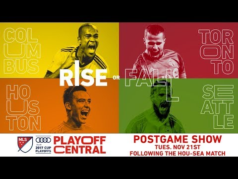Playoff Central: Conference Championships - Leg 1 Postgame | LIVE