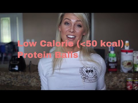 Low Calorie Protein Balls (Under 50kcal) Recipe by APD Holly Baxter