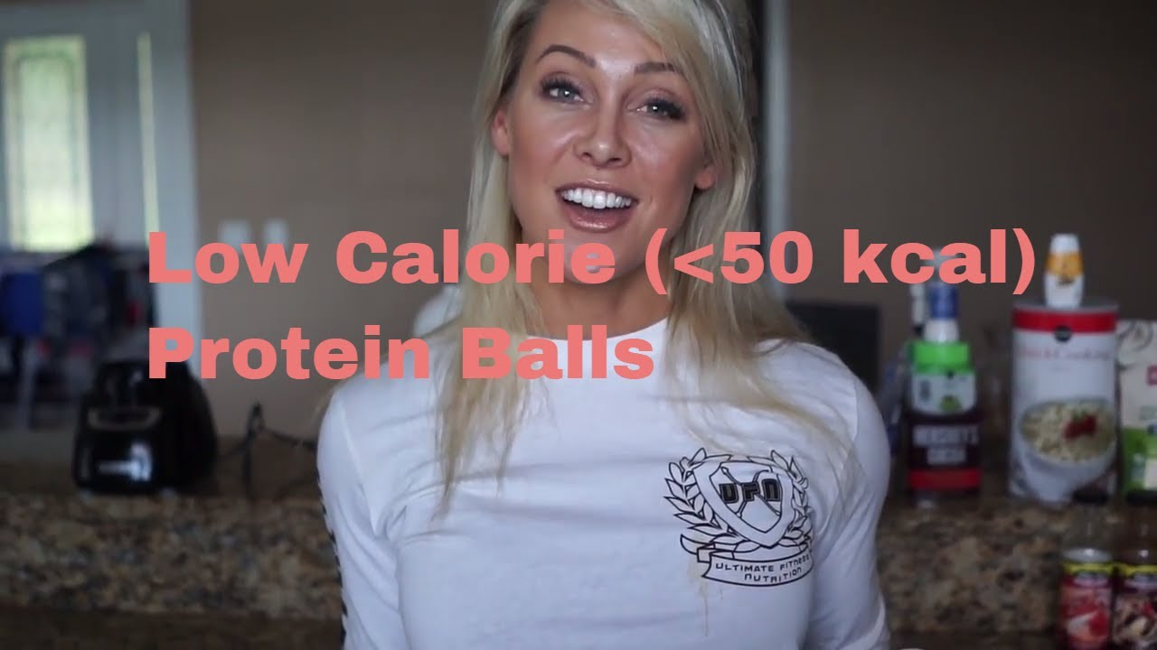 Low Calorie Protein Balls  (Under 50kcal) - Recipe by APD Holly Baxter