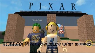 ROBLOX Pixar adventure w/mr monkey