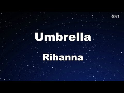 Umbrella - Rihanna Karaoke 【No Guide Melody】 Instrumental