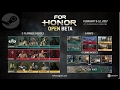 How to download/preload the For Honor open beta PC Steam