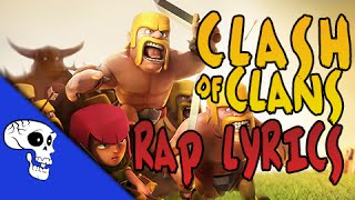 """Clash of Clans Rap LYRIC VIDEO by JT Music - """"My Castle Stands"""""""