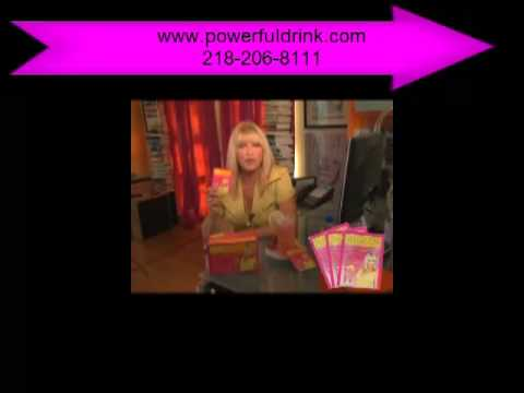 Suzanne Sip of Sunshine with Vitamin D Wellness Drink