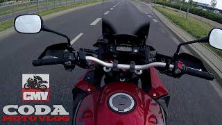 honda vfr1200x crosstourer dct abs vs city daily traffic stock exhaust sound test ride cmv