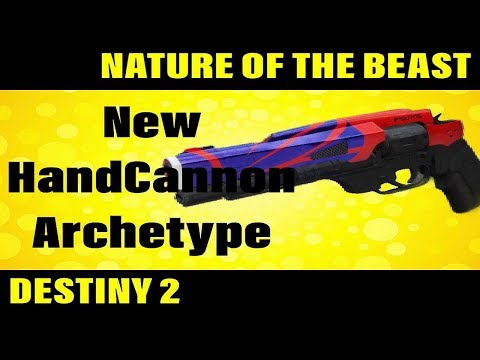 NATURE OF THE BEAST  Destiny 2 Weapon Review