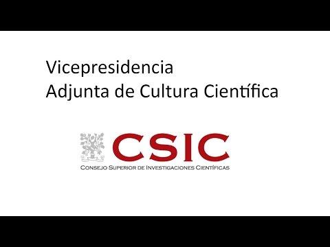 CSIC Cultura Cientifica 2016