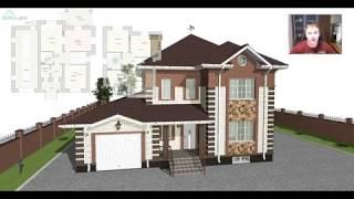 Проект комфортного двухэтажного дома «Вологда» E-388-ТП