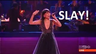 Dami Im - All I Want For Christmas Is You - Carols By CandleLight 2016 (Mariah Carey Song)