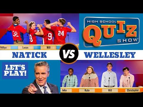 High School Quiz Show - Natick vs. Wellesley (905)