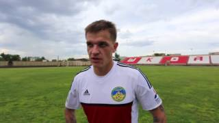 Сергей Шафф — о матче с «Байконуром»