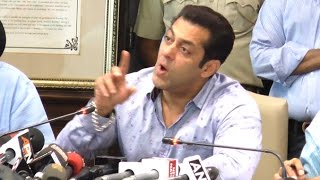 ANGRY Salman Khan INSULTS Reporter's Stupid Question On Anti-Open Defecation Campaign