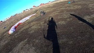 Обучение полётам на мотопараплане