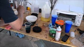 Wood Turning: Casting AirSoft BBs in Alumilite for Pen Blanks