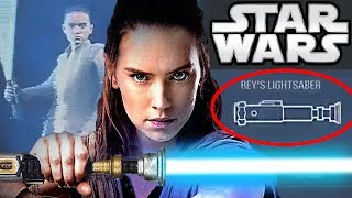 Why Does Rey Have Obi-Wan's Lightsaber?? Star Wars Explained