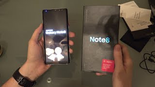 Samsung Galaxy Note 8 Unboxing and First Look!