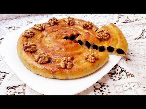 gÂteau-mhancha-délice-au-datte-et-noix-facile---cuisine-marocaine-133