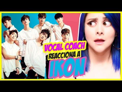 IKON Vocales Asombrosos  VOCAL COACH REACCIONA  Gret Rocha