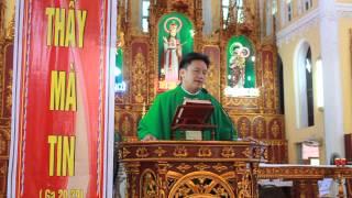 Bài giảng của cha quê hương Phạm Ngọc Oanh trong thánh lễ cho học sinh sinh viên!