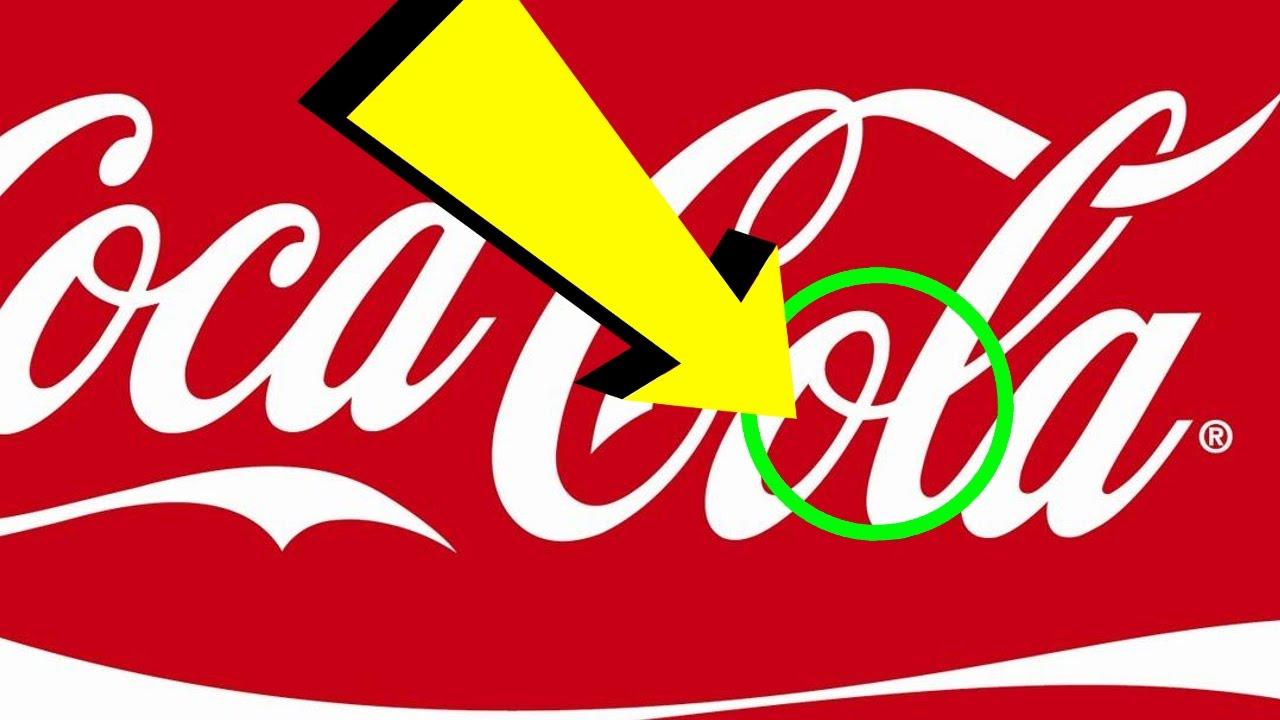16 Secret Messages Hidden In Famous Logos Youtube