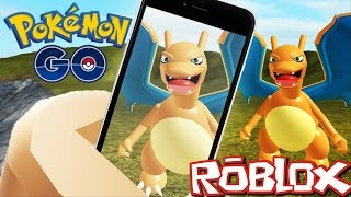 HUNTING POKEMON IN ROBLOX!! PLAY REAL POKEMON GO IN ROBLOX!!